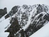2009年5月の小窓尾根からの剣岳